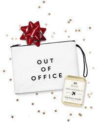MILLY - Merch Bundle: Cocktail Kit And Out Of Office Pouch - Lyst
