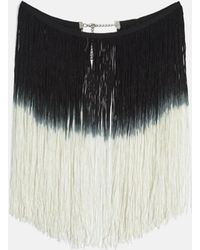 Missguided - Black Festival Tassel Collar - Lyst