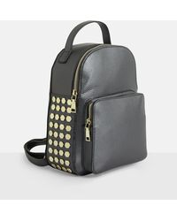Missguided - Black Mini Beaded Backpack - Lyst