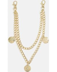 Missguided - Gold Look Coin Wallet Chain - Lyst