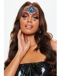 Missguided - Gypsy Shrine Mera Blue Face Jewels - Lyst