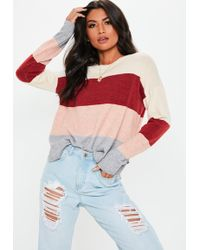 9b5a336e6f Missguided Valene Oversize Batwing Slouch Cardigan Light Blue in ...