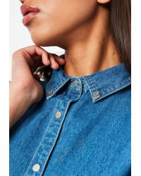 Missguided - Silver Collar Tips - Lyst