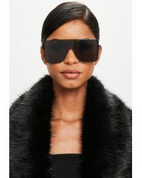 Missguided - Peace + Love Black Shades - Lyst