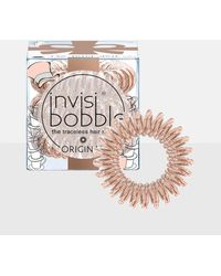 Missguided - Invisibobble 3 Pack Nude Original Hair Bobble - Lyst