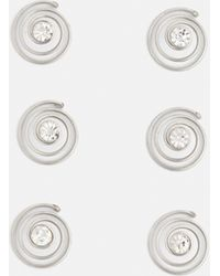 Missguided - Silver Diamante Hair Chain - Lyst