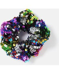 Missguided - Multi Sequin Scrunchie - Lyst