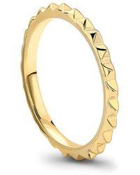 Missoma - Pyramid Ring - Lyst