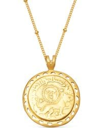 Missoma - Lucy Williams X Rising Sun Medallion Necklace - Lyst