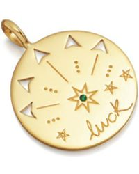 Missoma - Luck Talisman Pendant - Lyst
