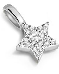 Missoma - Silver Pave Star Charm - Lyst