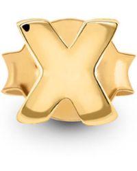 Missoma - Single Gold X Stud - Lyst