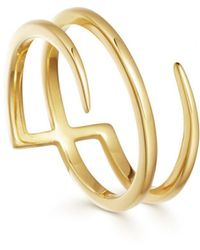 Missoma - Gold Claw Lacuna Ring - Lyst
