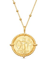 Missoma - Lucy Williams X Rope Medallion Necklace - Lyst
