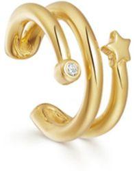 Missoma - Gold Claw Celestial Ear Cuff - Lyst