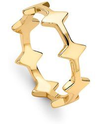 Missoma - Double Arrow Ring - Lyst