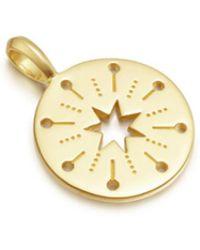 Missoma - Star Struck Amulet Pendant - Lyst