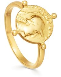 Missoma - Lucy Williams X Beaded Coin Ring - Lyst