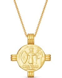 Missoma - Lucy Williams X Caesar Coin Necklace - Lyst