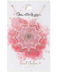 Miss Selfridge - Heart Chakra 'love' - Lyst