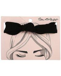 Miss Selfridge - Black Cord Knot Headband - Lyst
