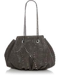 Moda In Pelle - Izziebag Grey Porvair - Lyst