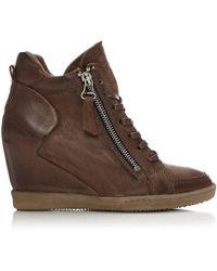 Moda In Pelle - Bertine Tan Leather - Lyst