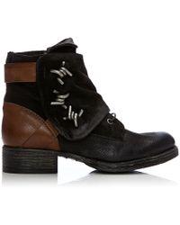 Moda In Pelle - Brendi Black Leather - Lyst