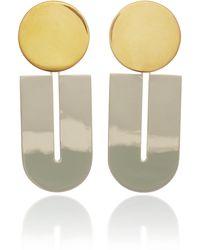 Uncommon Matters - Top Tuck Earrings - Lyst