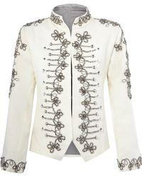 Nadya Shah - Zara Military Jacket - Lyst
