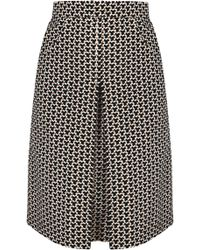 Dalood - Printed Cotton Skirt - Lyst