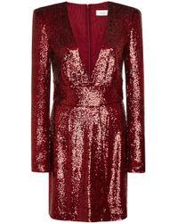 A.L.C. - Mara Sequined Mini Dress - Lyst
