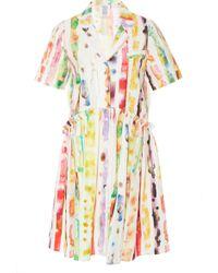 Rosie Assoulin - Exclusive Printed Cotton-poplin Dress - Lyst