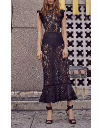 Alexis - Kleo Lace Dress - Lyst