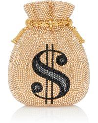 Judith Leiber - Money Bags Pouch Clutch - Lyst