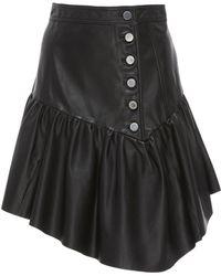 Marissa Webb - Jude Leather Skirt - Lyst
