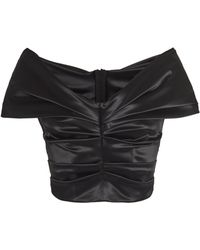 Dolce & Gabbana - Ruched Top - Lyst