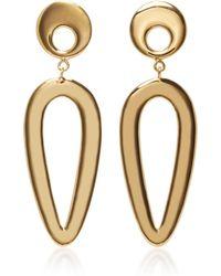 AGMES - Eva Gold Vermeil Earrings - Lyst