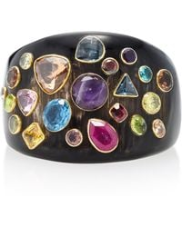Ashley Pittman - Upendo Horn And Multi-stone Bangle - Lyst