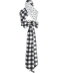 MDS Stripes - Exclusive Everything Reversible Cotton Scarf - Lyst