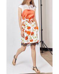 Alexis Mabille - Orange Nuisette Slip Dress - Lyst