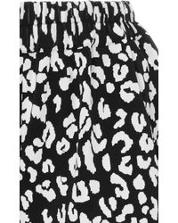 Prism - Leopard Printed Shorts - Lyst