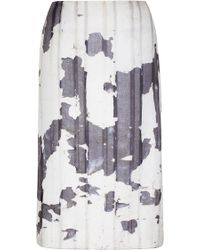 Bevza - High Waisted Pencil Skirt - Lyst