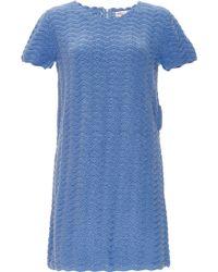 Orley - Cotton Wave Stitch Hand Crocheted Dress - Lyst