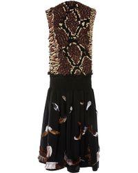 Manish Arora - Sleeveless Low Waist Long Dress - Lyst