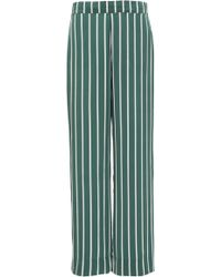 Asceno - Tapered Silk Pajama Bottom - Lyst