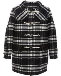 Marni - Toggle-Embellished Wool Blend-felt Hooded Coat - Lyst