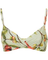 Lenny Niemeyer - Crossover Rushed Bikini Top - Lyst