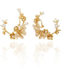 Anabela Chan - M'o Exclusive Diamond Orchard Garland Earrings - Lyst