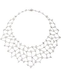 Yeprem Snowflakes Choker Necklace BKcPR